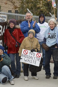 Protest Against Radioactive Fracking Waste