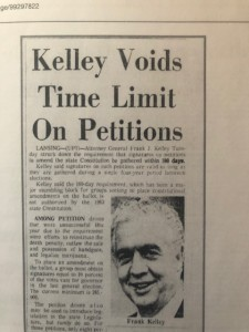 Frank Kelley Voids Time limit