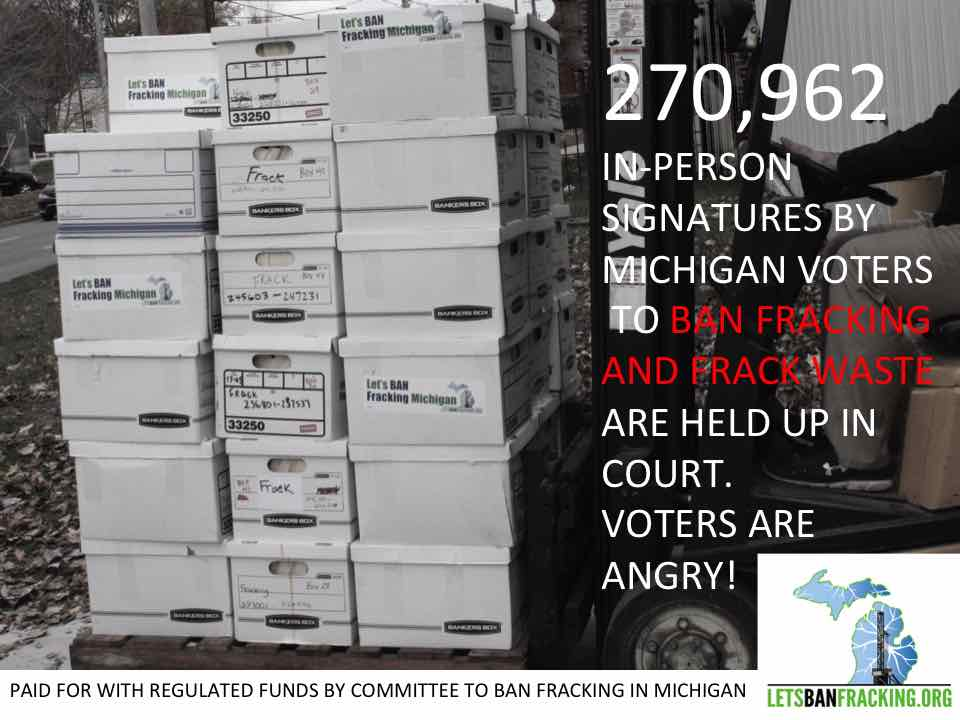 Petitions in boxes forklift POSTER copy